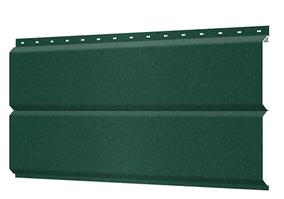 Металлосайдинг 240 мм RAL 6007 Матовый  Europanel Цена 1170 тенге при заказе свыше 50 п.м