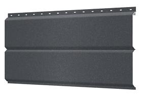 Металлосайдинг 240 мм RAL 7024 Матовый Europanel Цена 1170 тенге при заказе свыше 50 п.м