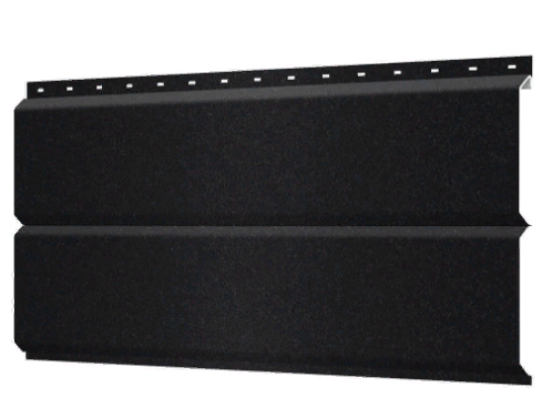 Металлосайдинг 240 мм RAL 9005 Матовый  Europanel Цена 795 тенге при заказе свыше 50 п.м