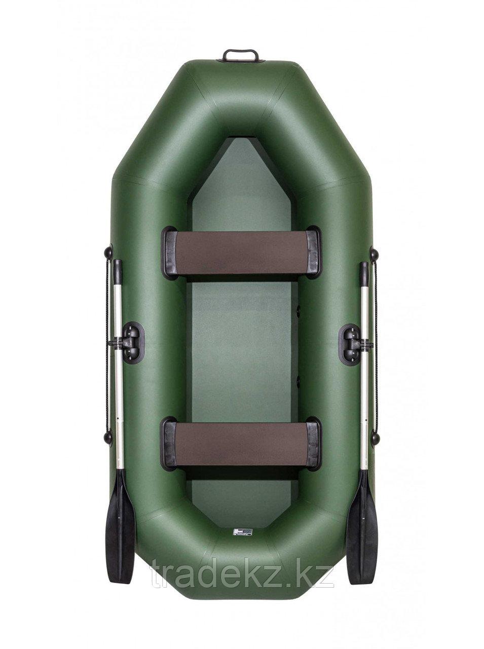 Лодка ПВХ Барс 260 зеленый