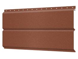 Металлосайдинг 240 мм RAL 8004 Матовый Фасадная панель Europanel Цена 1170 тенге при заказе свыше 50 п.м