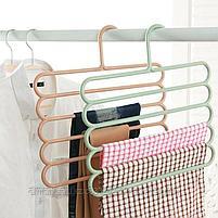 Многофункциональная вешалка для одежды и аксессуаров (пластик), фото 3