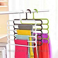 Многофункциональная вешалка для одежды и аксессуаров (пластик), фото 4