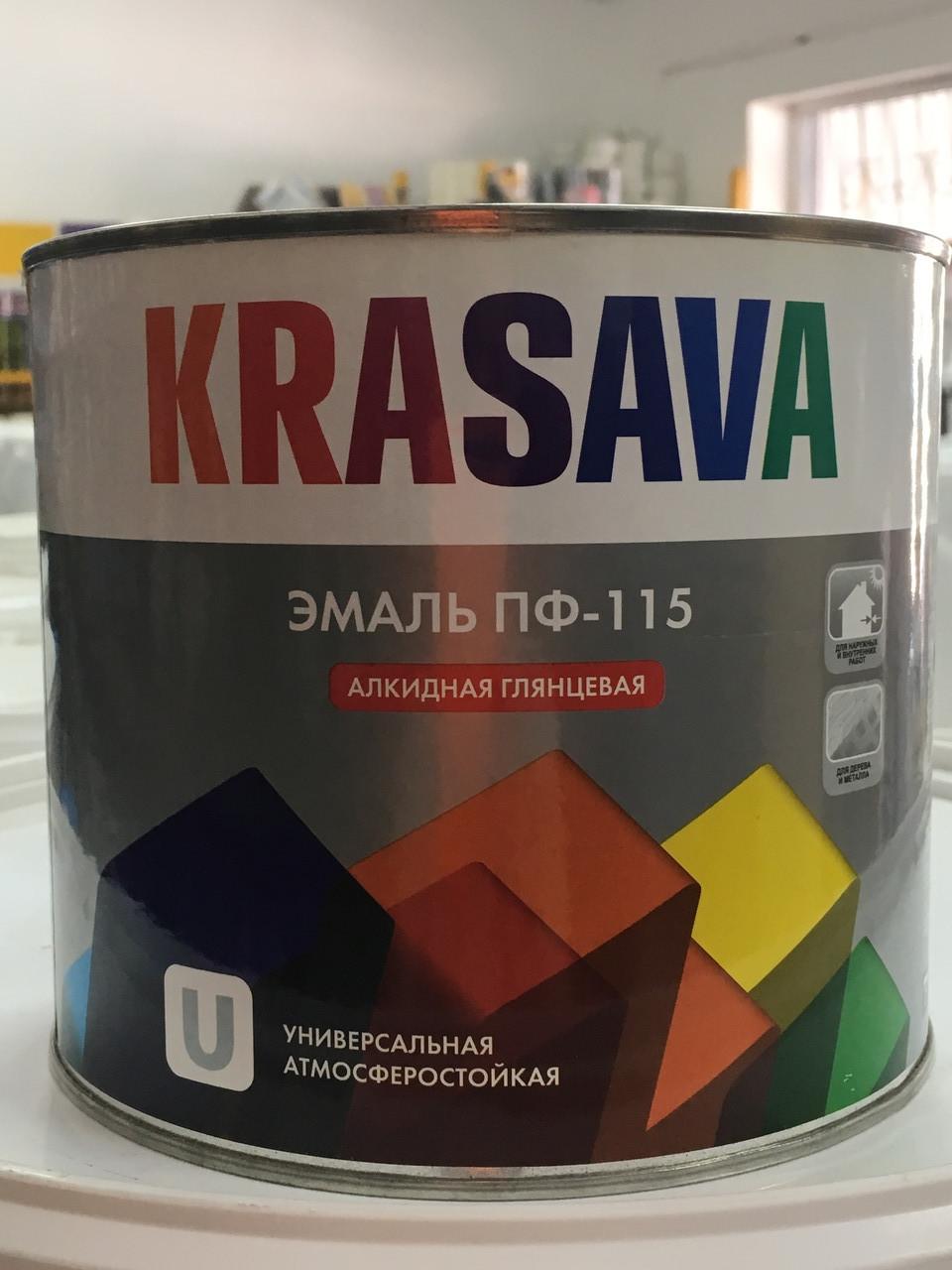 Эмаль ПФ-115 Krasava