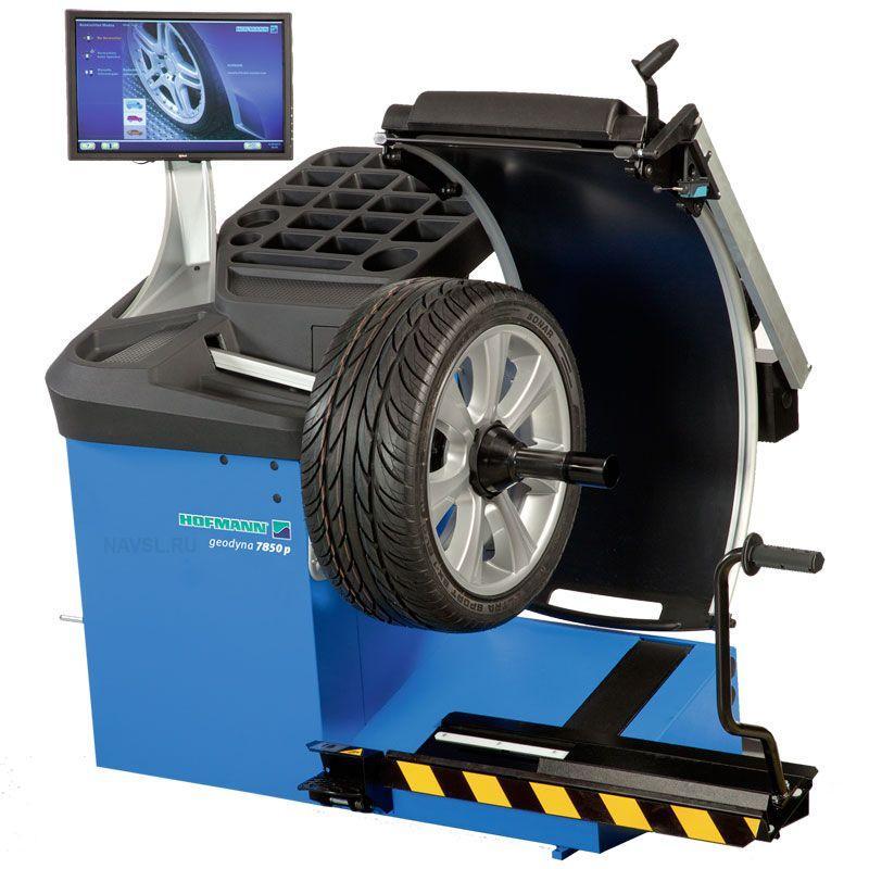 Стенд балансировочный Hofmann Geodyna 7850P со встр. подъемником для колес (замена Geodyna 6900-2p)