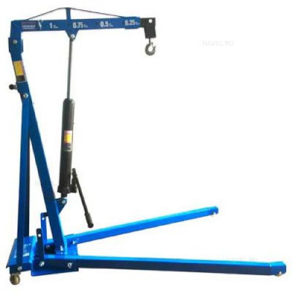 Кран AE&T Т62301 1000 кг складной (низкий въезд)