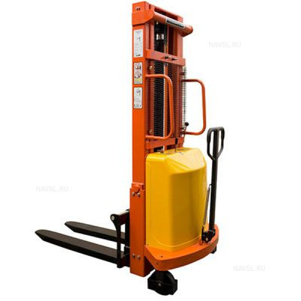 Штабелер гидравлический с электроподъемом Grost HED 10/20 (1000 кг, 2 м)