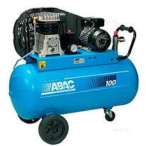 Передвижной компрессор Abac B 4900B 100 PLUS CT 4 (поршневой)