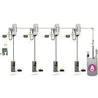 Автоматизированная стационарная система раздачи и учета масла ATIS HPMCO-04