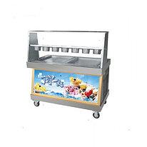 Фризер для ролл мороженого KCB-2Y FoodAtlas (контейнеры, стол для топпингов,  контроль температуры)