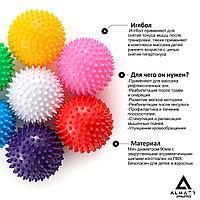 Иглбол, массажный мяч