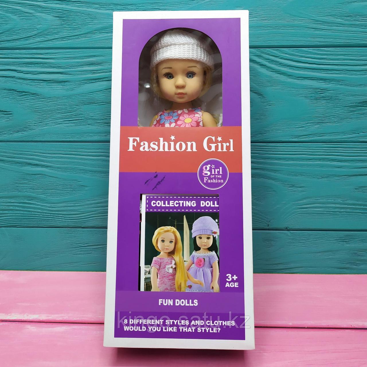 Кукла в платье Fashion girl 8 different styles