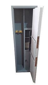 Оружейный сейф на 2 ствола металл 3 мм