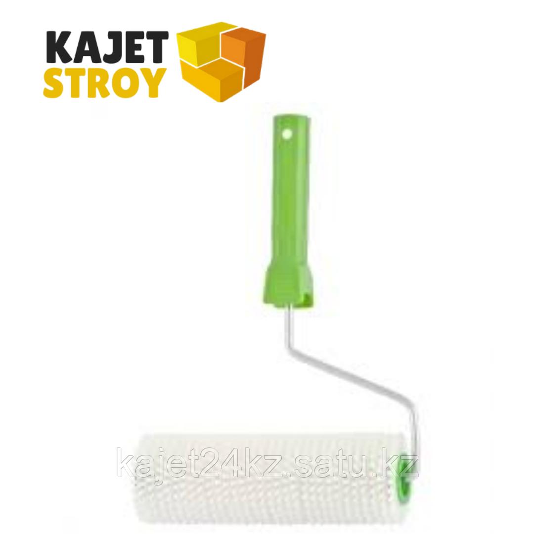 Валик игольчатый  для наливных полов с ручкой, 200 мм// Сибртех