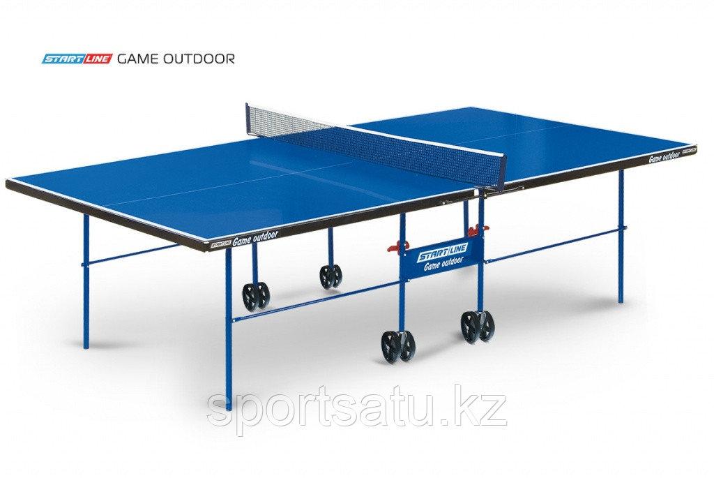 Теннисный стол всепогодный Start Line Game Outdoor LX с сеткой