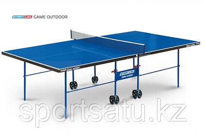 Теннисный стол всепогодный Start Line Compact Outdoor 2 LX с сеткой
