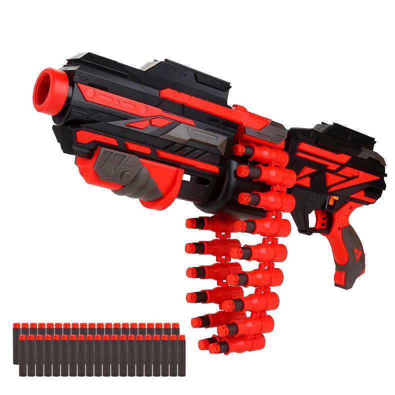 Soft Bullet Gun Игрушечный Бластер с мягкими пулями