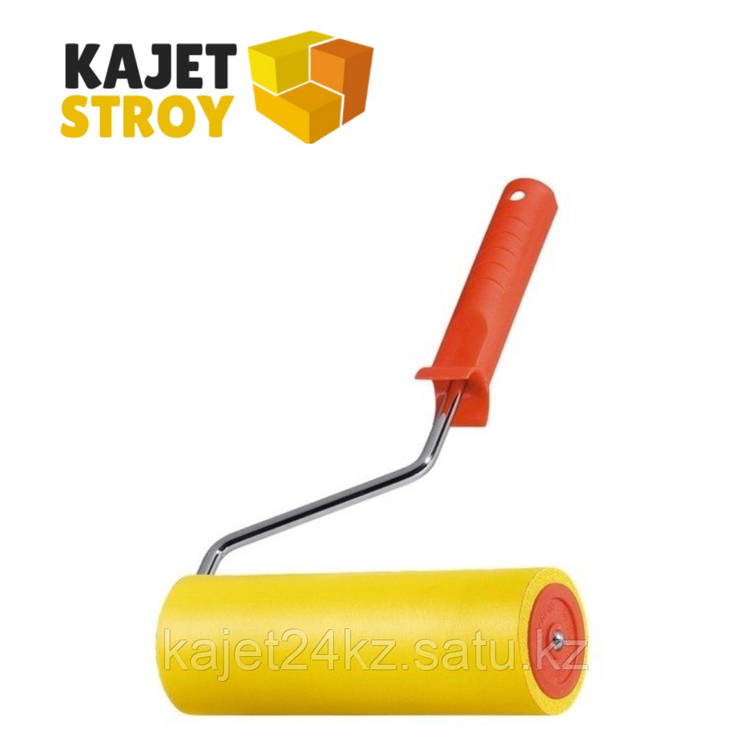 Валик прижимной резиновый с ручкой, 150 мм, D ручки - 6 мм// MTX