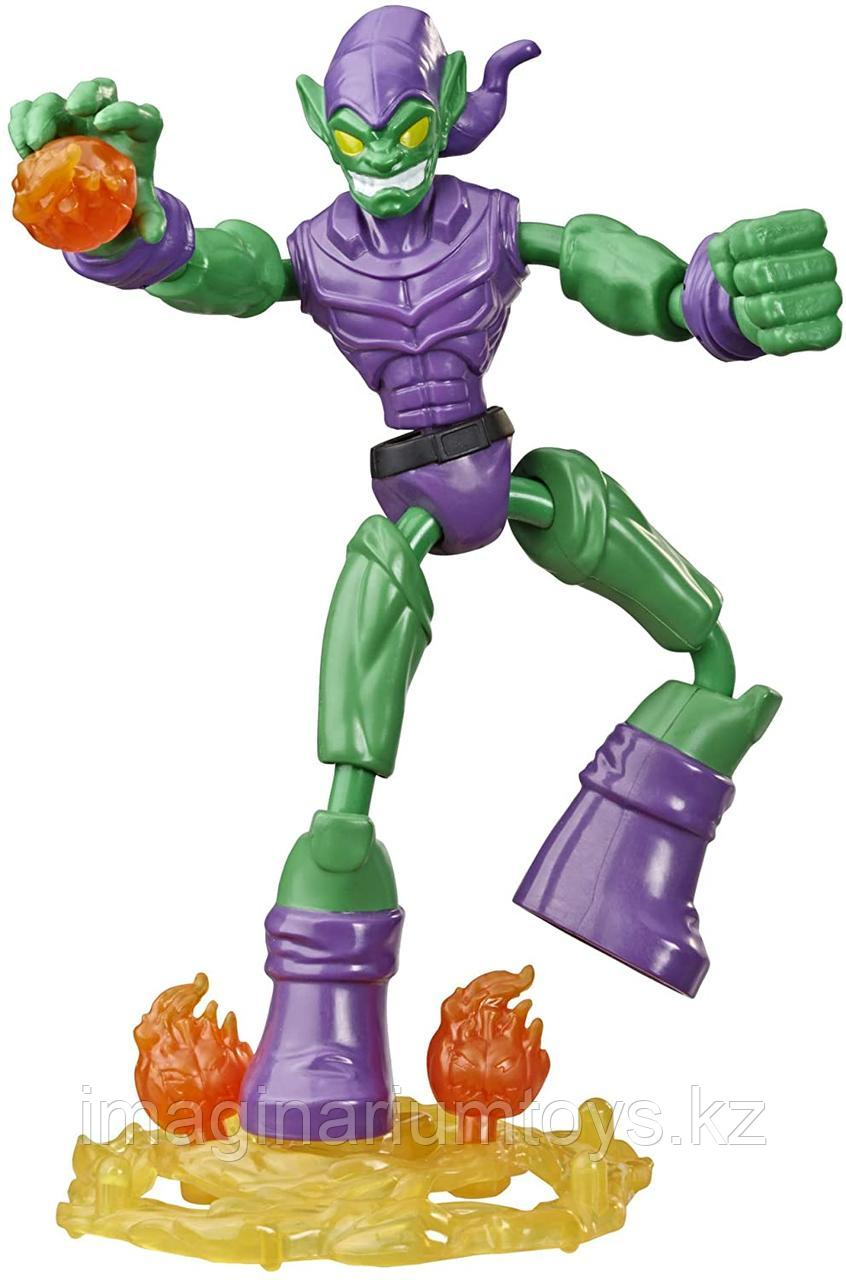 Зеленый Гоблин фигурка 15 см Bend&Flex Hasbro
