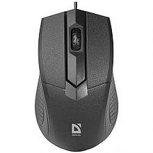 Компьютерная мышь Defender Optimum MB-270 черный 3 кнопки,1000 dpi