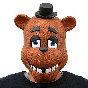 Маска Фредди из игры Five nights at Freddy's
