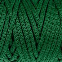 Шнур для рукоделия полиэфирный 'Софтино' 4 мм, 50м/110гр (т. зелёный)