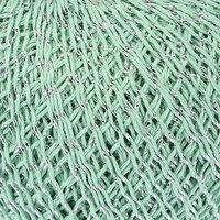Нитки вязальные 'Снежинка сверкающая' 195м/25гр 92 хлопок, 8 люрекс цвет 2102 (комплект из 10 шт.)