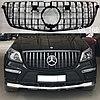 Решетка радиатора GT на Mercedes Benz X166 GL 2013-2016 г., фото 3