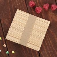 Палочки деревянные для мороженого, 48-50 шт, 11,5x1,1 см