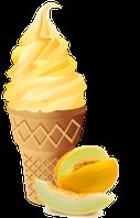 Сухая Смесь для мороженого Дыня