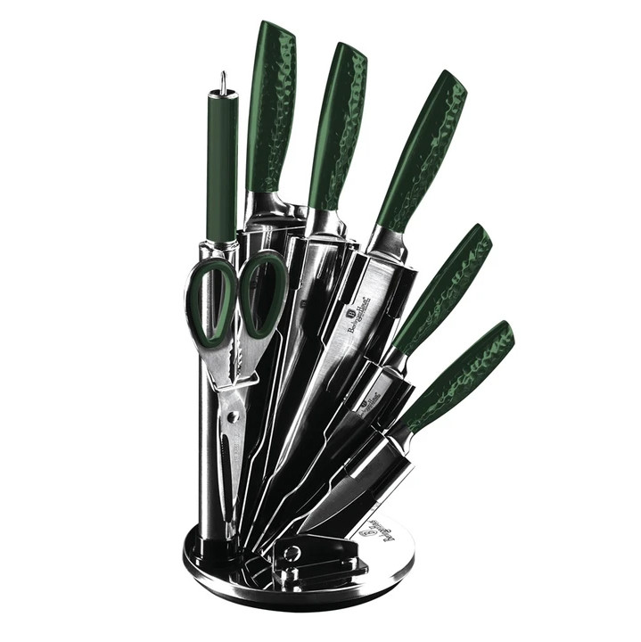 Набор ножей Berlinger Haus Emerald Collection  8 предметов (BH 2463)