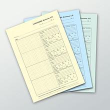 Печать цветных фирменных бланков с нумерацией