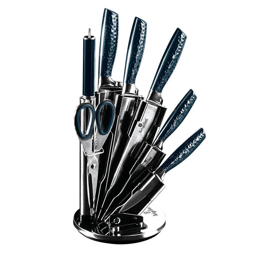 Набор ножей Berlinger Haus Metallic Line Aquamarine Edition 8 предметов (BH 2460)