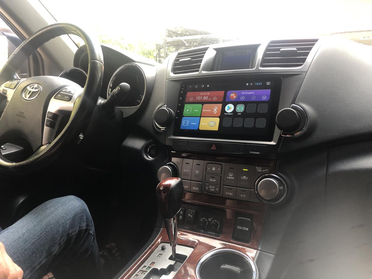 Штатная магнитола Mac Audio Toyota Highlander 2008-2013 ANDROID