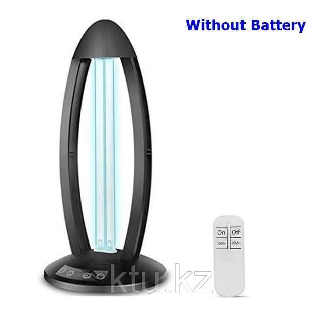Светильник бактерицидный ультрафиолетовый (черный), кварцевая лампа