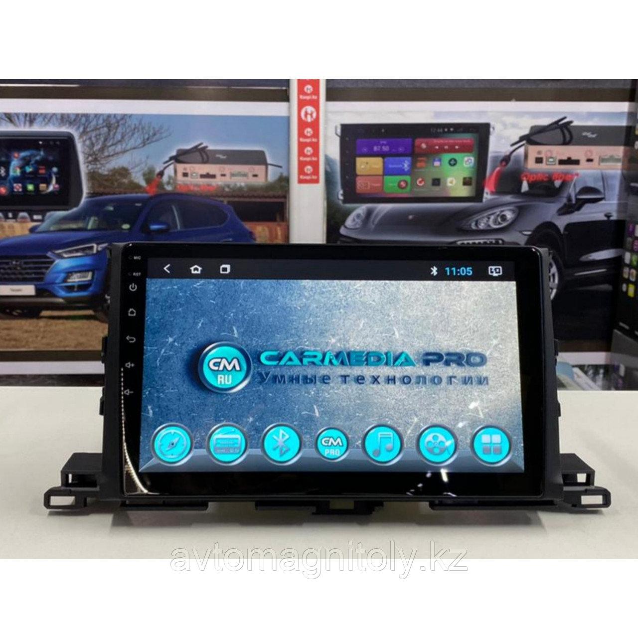 Магнитола CarMedia PRO Toyota Highlander 2014-2019