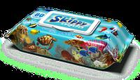 Влажные салфетки Skippy Aqua №80