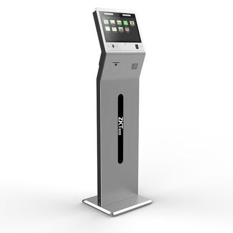 Интеллектуальное устройство распознавания лиц c модулем обнаружения температуры ZKTeco FaceKiosk-H13C[TD]