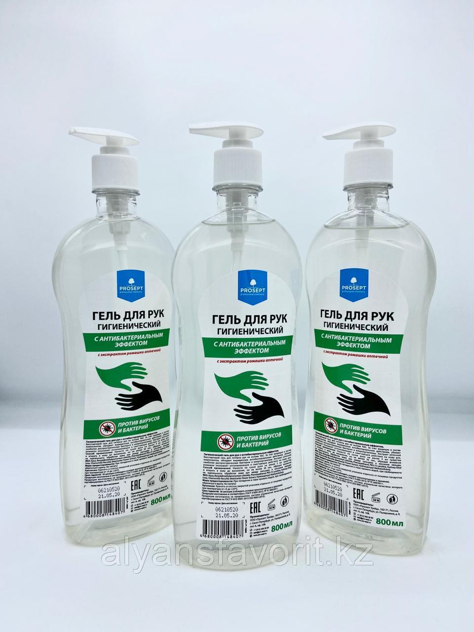 PROSEPT- антисептик (санитайзер)  гель для рук 800  мл. РФ