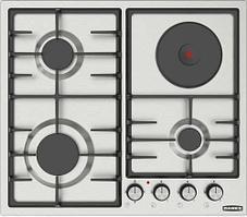 Встраиваемая газо-электр. плита DANKE 6031 CFF inox 2