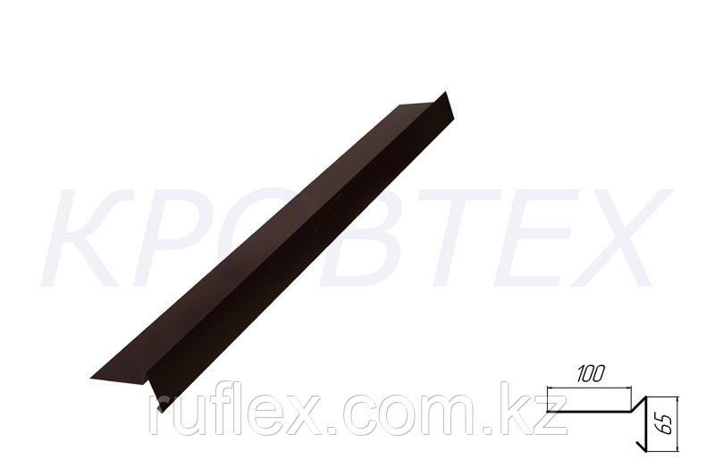 Металлическая фронтонная планка     WatsApp +7 701 100 08 59