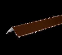 ТЕХНОНИКОЛЬ HAUBERK УГОЛОК МЕТАЛЛИЧЕСКИЙ ВНЕШНИЙ 50х50х1250 коричневый