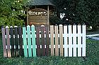 Забор металлический штакетник, фото 4