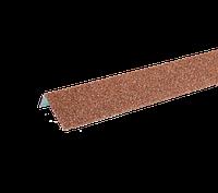 ТЕХНОНИКОЛЬ HAUBERK НАЛИЧНИК ОКОННЫЙ МЕТАЛЛИЧЕСКИЙ 50х100х1250 красный кирпич