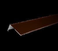ТЕХНОНИКОЛЬ HAUBERK НАЛИЧНИК ОКОННЫЙ МЕТАЛЛИЧЕСКИЙ 50х100х1250 коричневый
