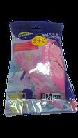 Rozenbal Перчатки розовые акционные 2+2 medium