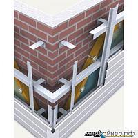 Элементы подсистемы вентилируемого фасада
