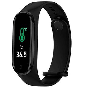 Умный фитнес-браслет 5 Pro .C измерением температуры тела и тонометром.