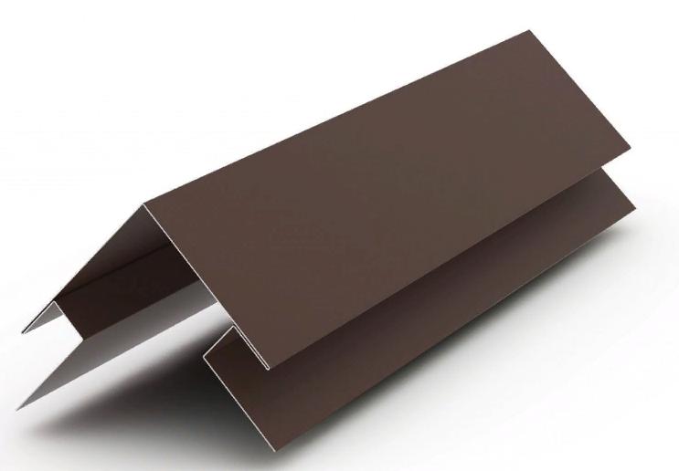 Угол наружний сложный Матовый 75x75x3000 мм