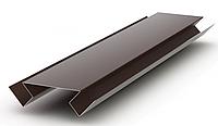 Угол внутренний сложный Матовый 75x75x3000 мм